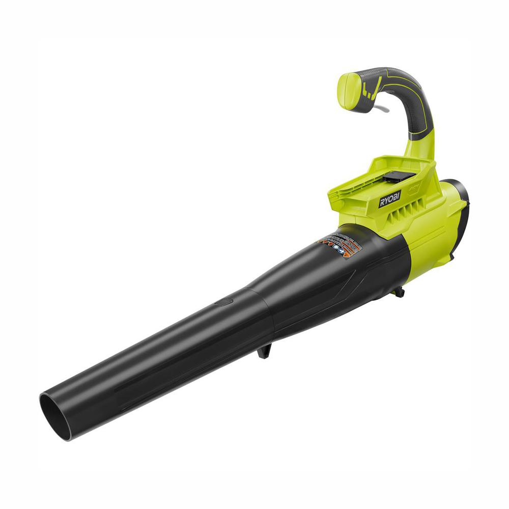 RYOBI 155 MPH 300 CFM 40-Volt Lithium-Ion Cordless Battery Jet Fan Leaf Blower (Tool Only)