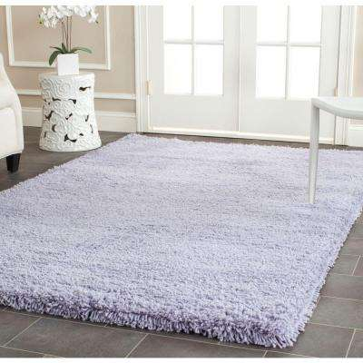 Classic Shag Lilac 5 ft. x 8 ft. Area Rug