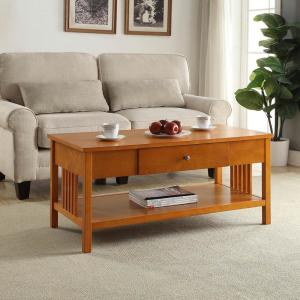 Mission Oak Coffee Table by