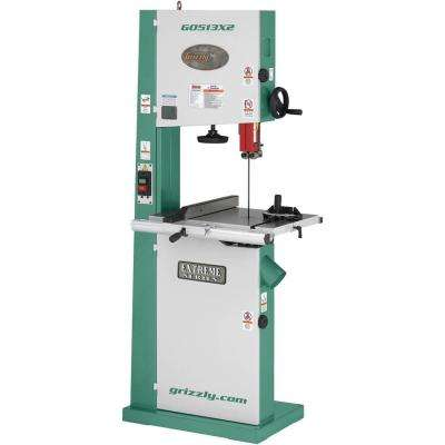 "17"" Bandsaw 2HP w/Cast Iron Trunnion"