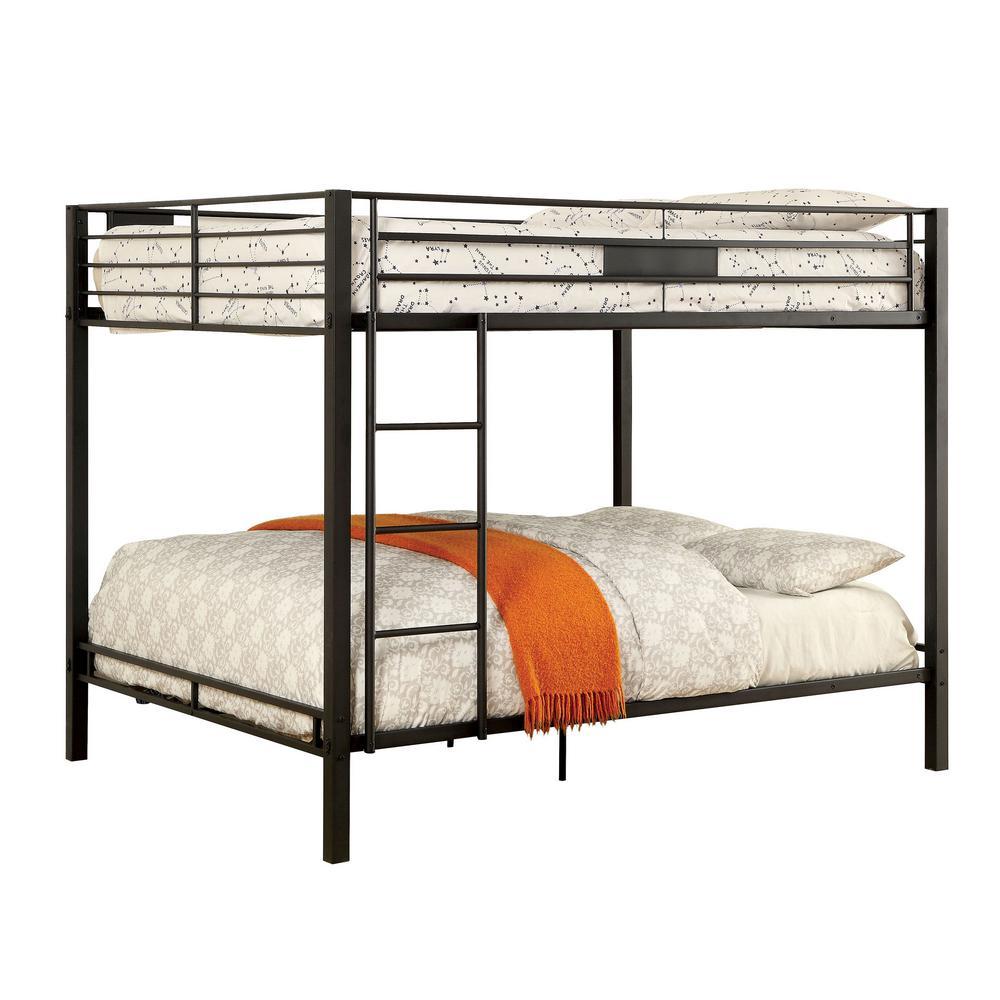 Claren in Black Queen Bunk Bed