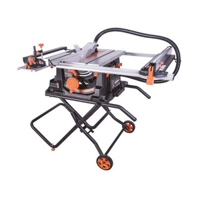 Evolution Power Tools 15 Amp 10 in. Table Saw with Multi-Material 24-T Blade
