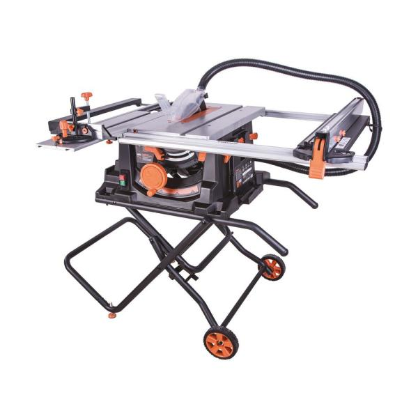 15 Amp 10 in. Table Saw with Multi-Material 24-T Blade