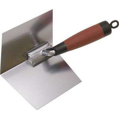 4 in. x 5 in. Drywall Corner Finishing Trowel-DuraSoft Handle