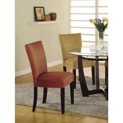 Castana Collection Terracotta Parson Chair (Set of 2)