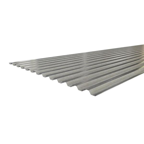 Unbranded 8 Ft 3 In X 30 In X 9 16 In 28 Gauge Galvanized Steel Decking 91608 The Home Depot