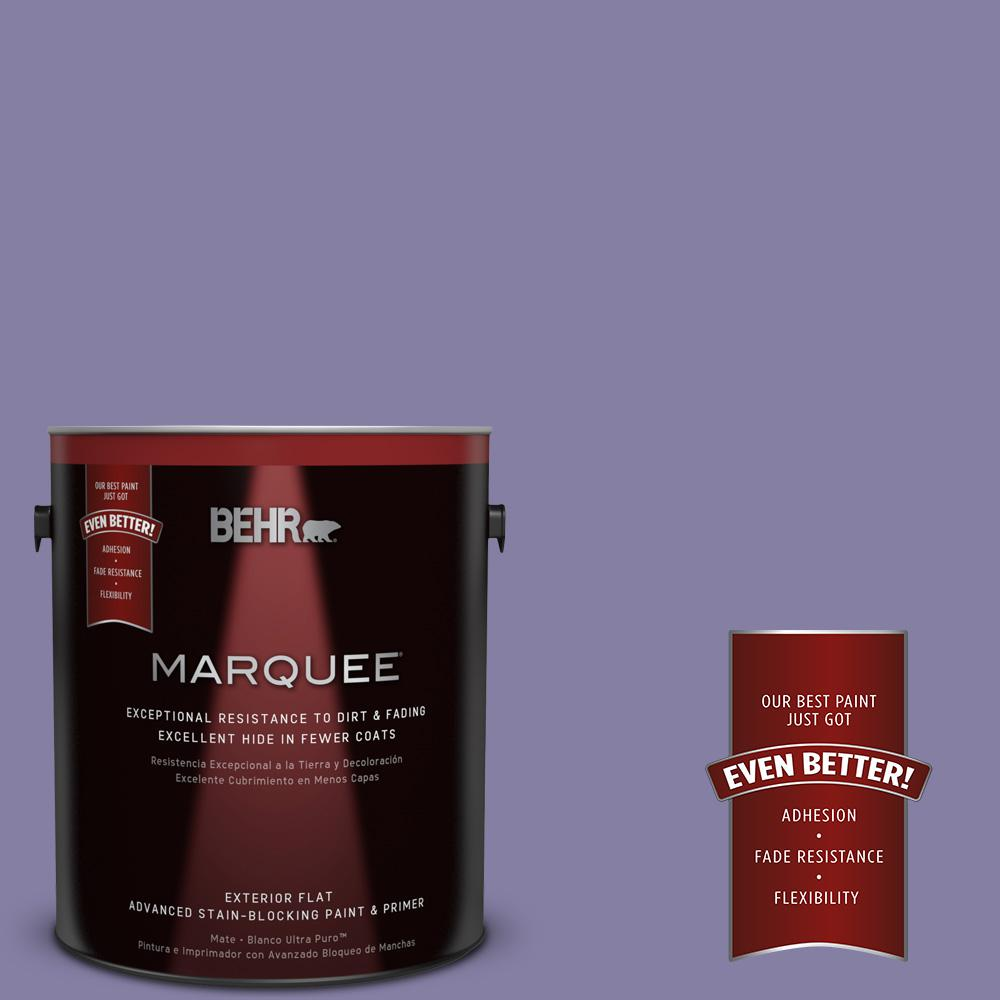 1-gal. #640D-6 Chinese Violet Flat Exterior Paint