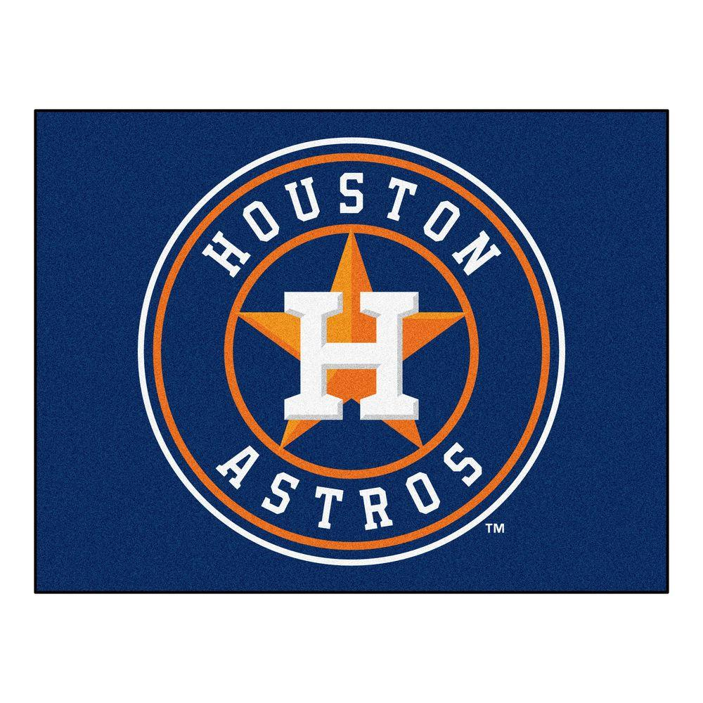 FANMATS Houston Astros 2 ft. 10 in. x 3 ft. 9 in. All-Star Rug