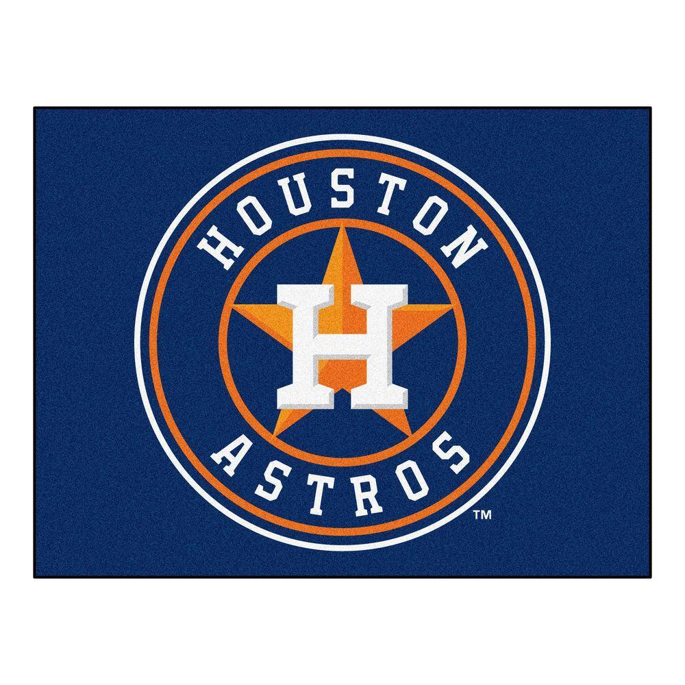 Houston Astros 3 ft. x 4 ft. All-Star Rug