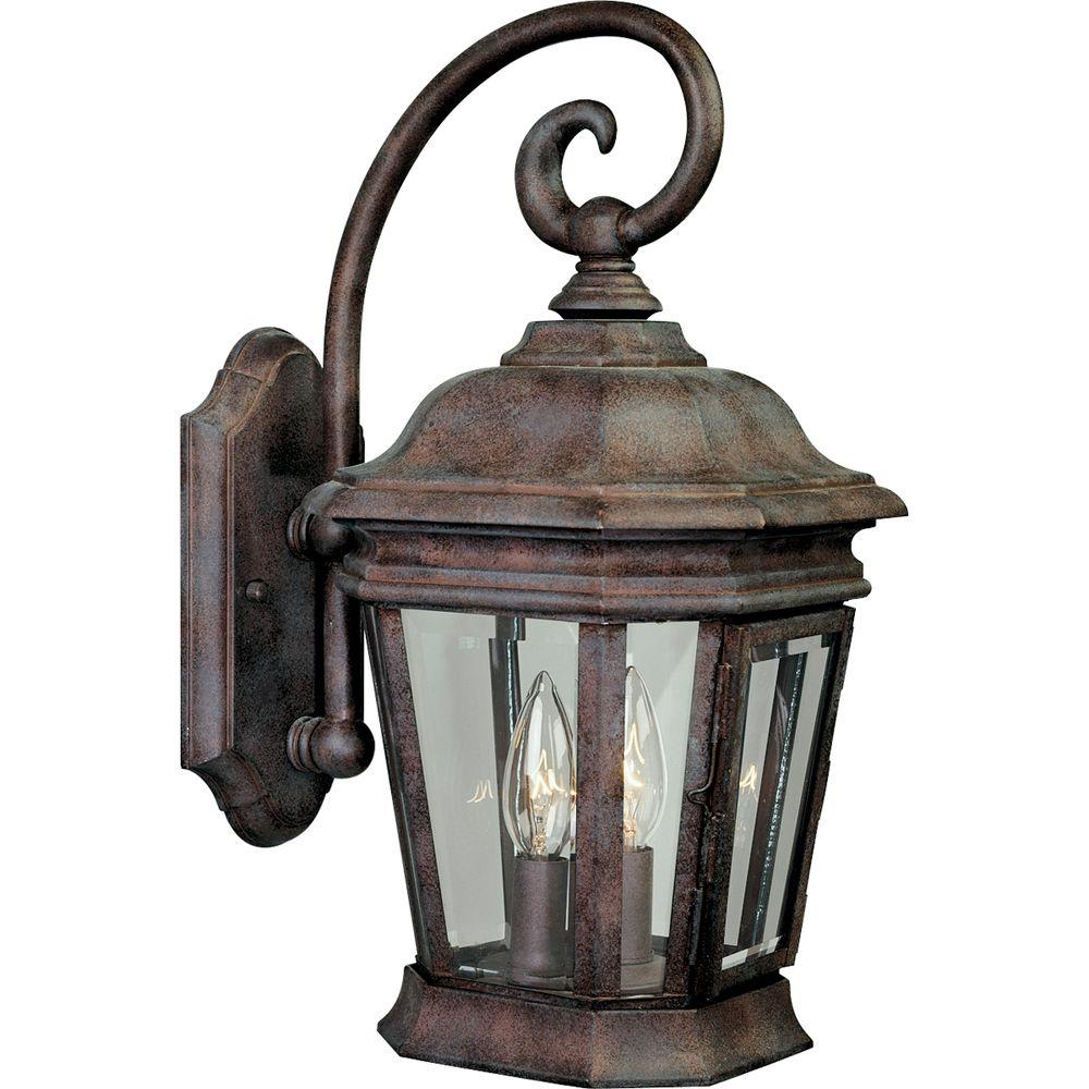 Progress Lighting Crawford Collection Cobblestone 2-light Wall Lantern-DISCONTINUED