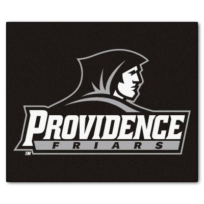 NCAA Providence College Black 5 ft. x 6 ft. Area Rug