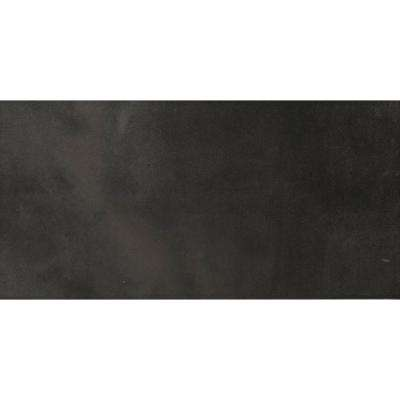 Cosmopolitan Charcoal 12 in. x 24 in. Porcelain Floor and Wall Tile (11.64 sq. ft. / case)