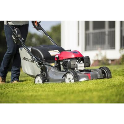 HRX NeXite Deck 21 in. GCV200 Electric Start Self Propelled Walk Behind Gas Hydrostatic Mower with Roto-Stop & Versamow