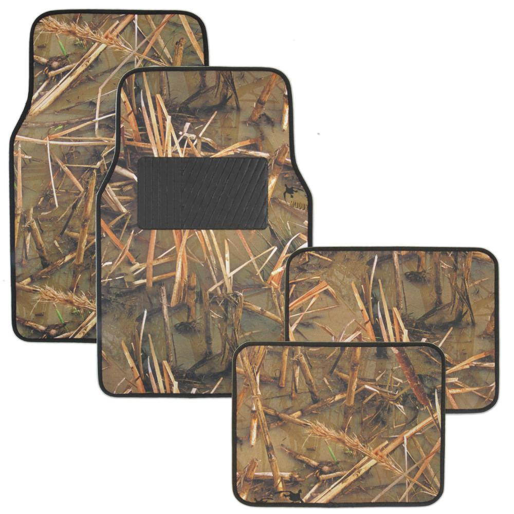 Muddy Water MT-705 Camouflage 4 Pieces Car Floor Mats