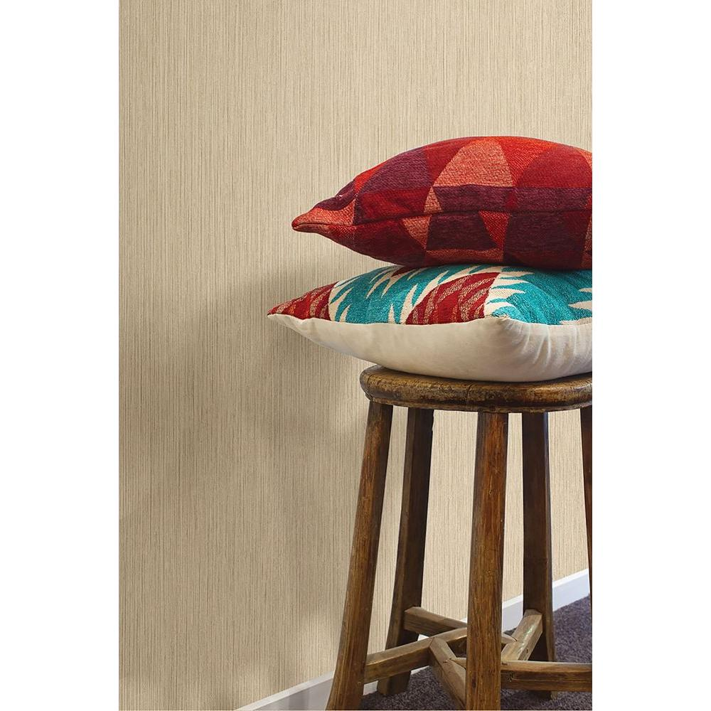 Brown Ridge Texture Wallpaper