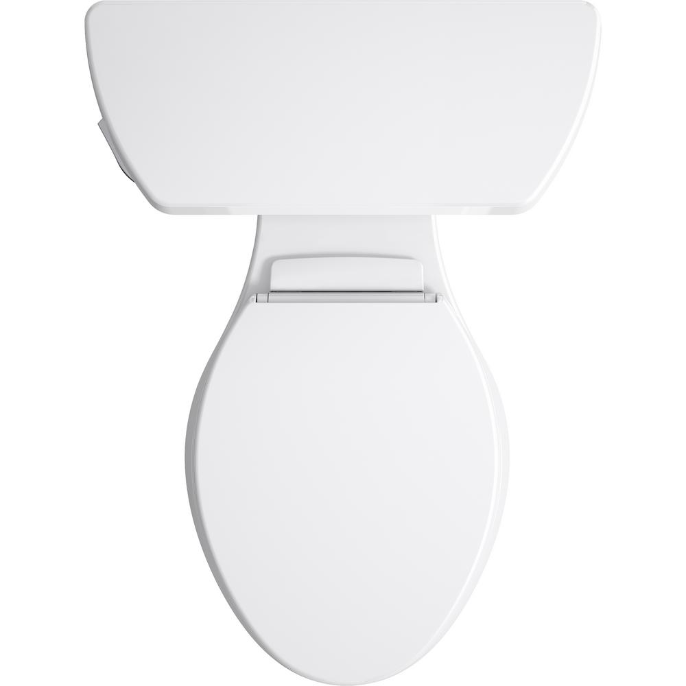 Outstanding Kohler Highline Elongated Closed Front Toilet Seat In White Theyellowbook Wood Chair Design Ideas Theyellowbookinfo