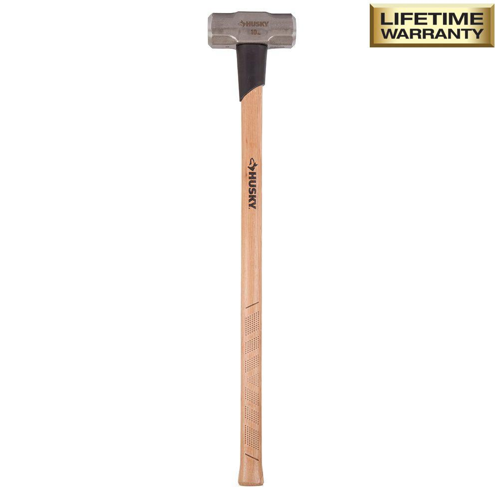 Husky 10 lb. Sledge Hammer with 36 in. Hickory Handle
