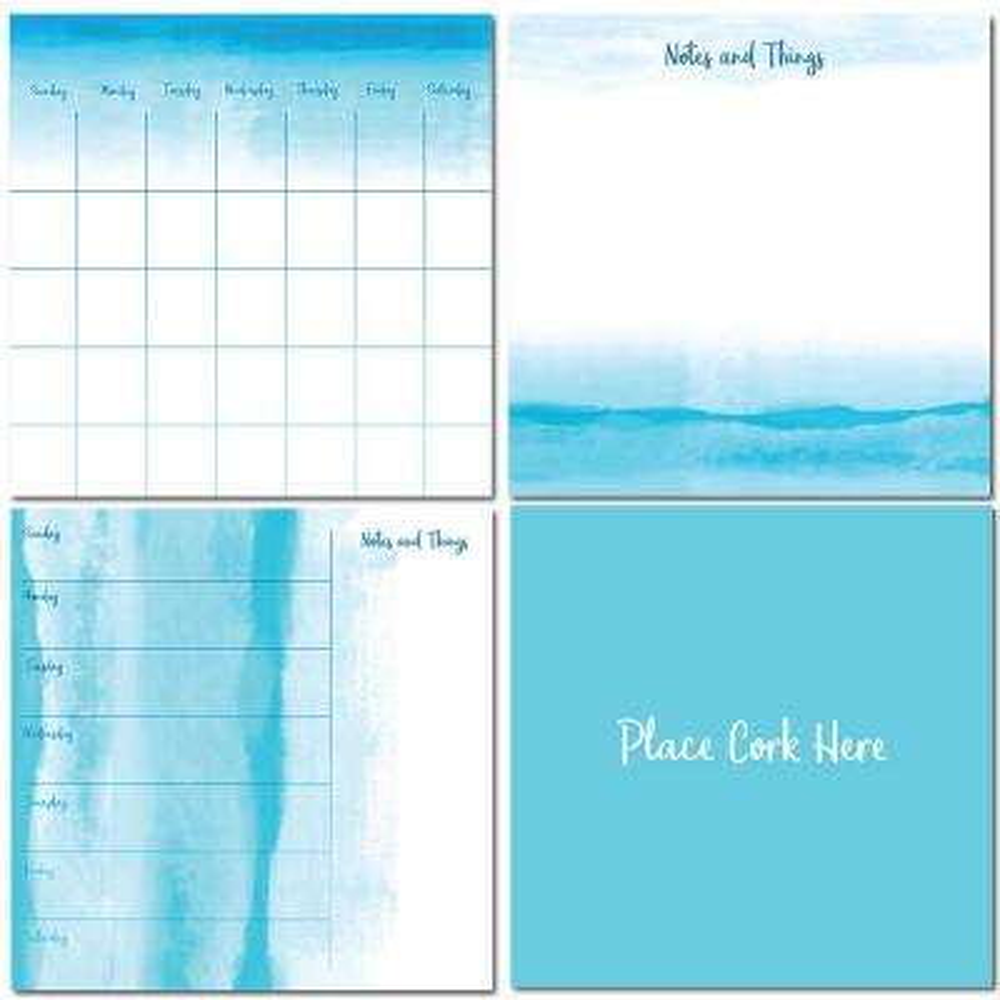 Blue Equinox Organizer Kit Decal