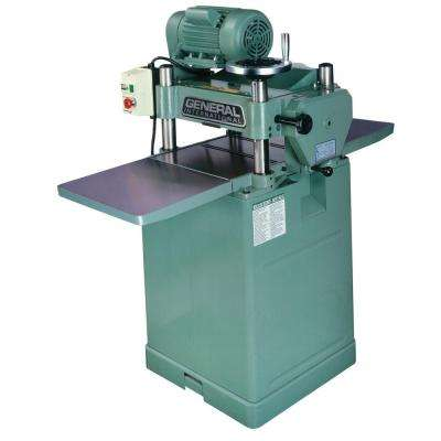 15-Amp 15 in. Single Surface Planer