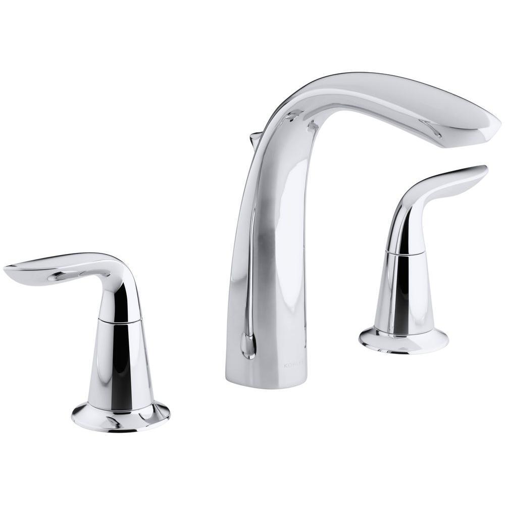Kohler Refinia 2 Handle Deck Mount Bath Faucet Trim Kit
