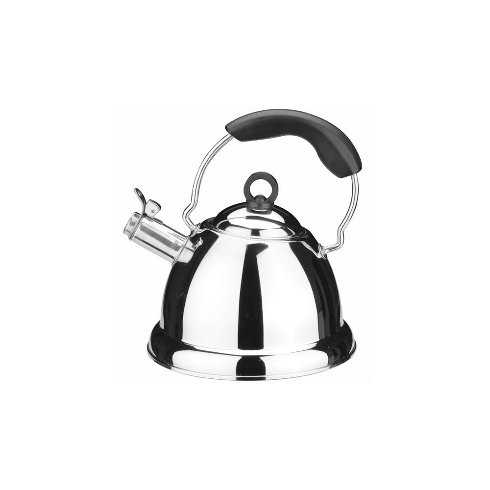 CooknCo 6-Cup Stovetop Tea Kettle in Silver