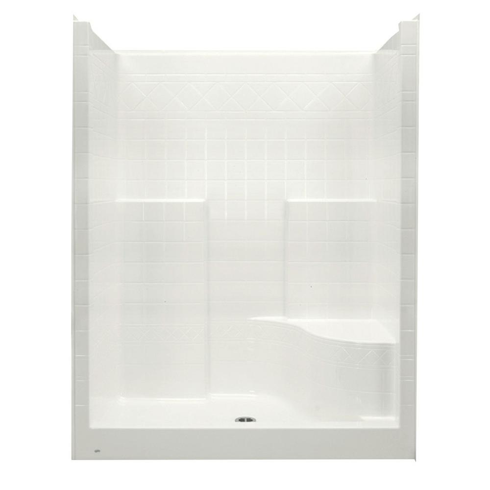 Aquatic Everyday 60 In X 36 In X 79 In 1 Piece Shower