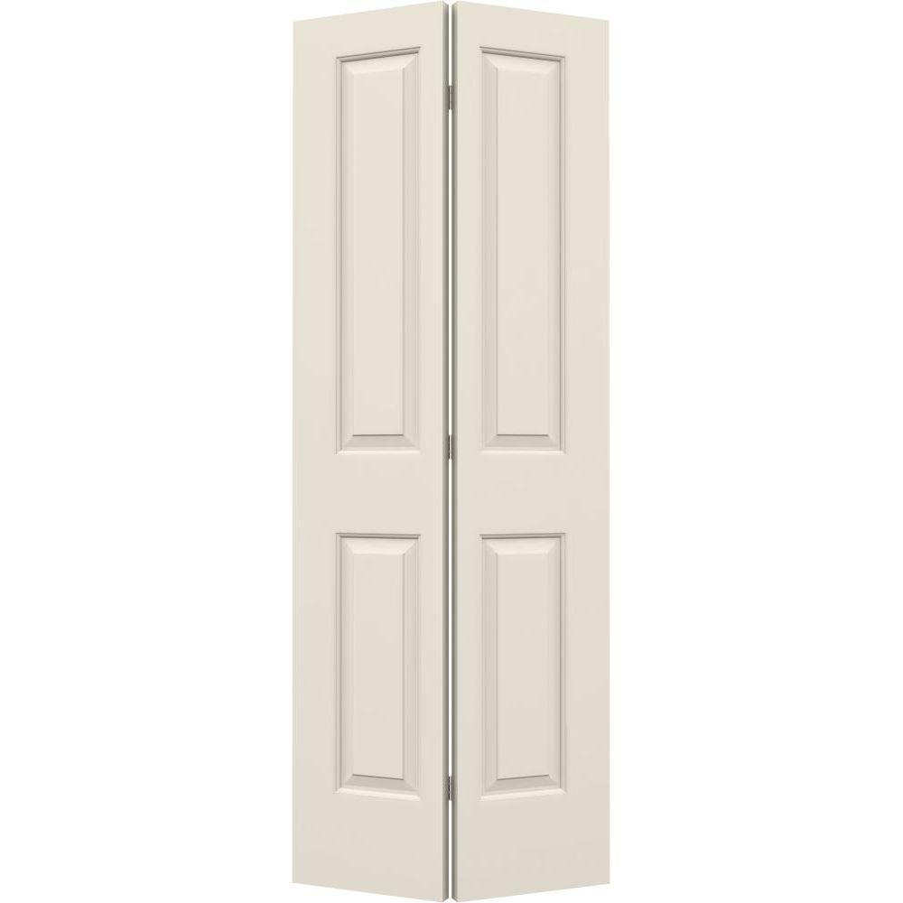 JELD-WEN 32 in. x 80 in. Cambridge Primed Smooth Molded Composite ...