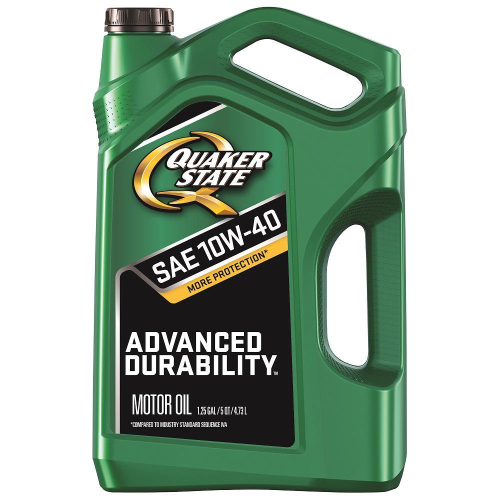 5 QT. SAE 10W-40 Advanced Durability Conventional Motor Oil