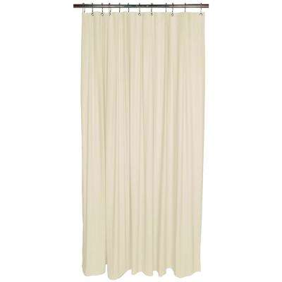 Heavy Grommet Shower Liner in Beige