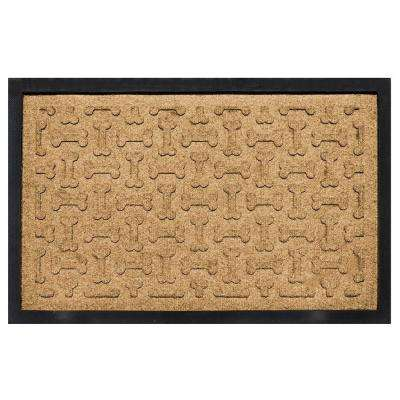 Gold 18 in. x 27 in. Dog Treats Boot Tray