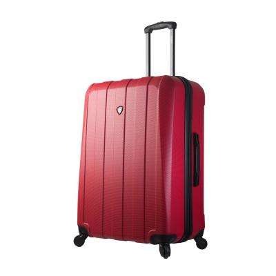 Tosetti 28 in. Red Hard Side Spinner Suitcase