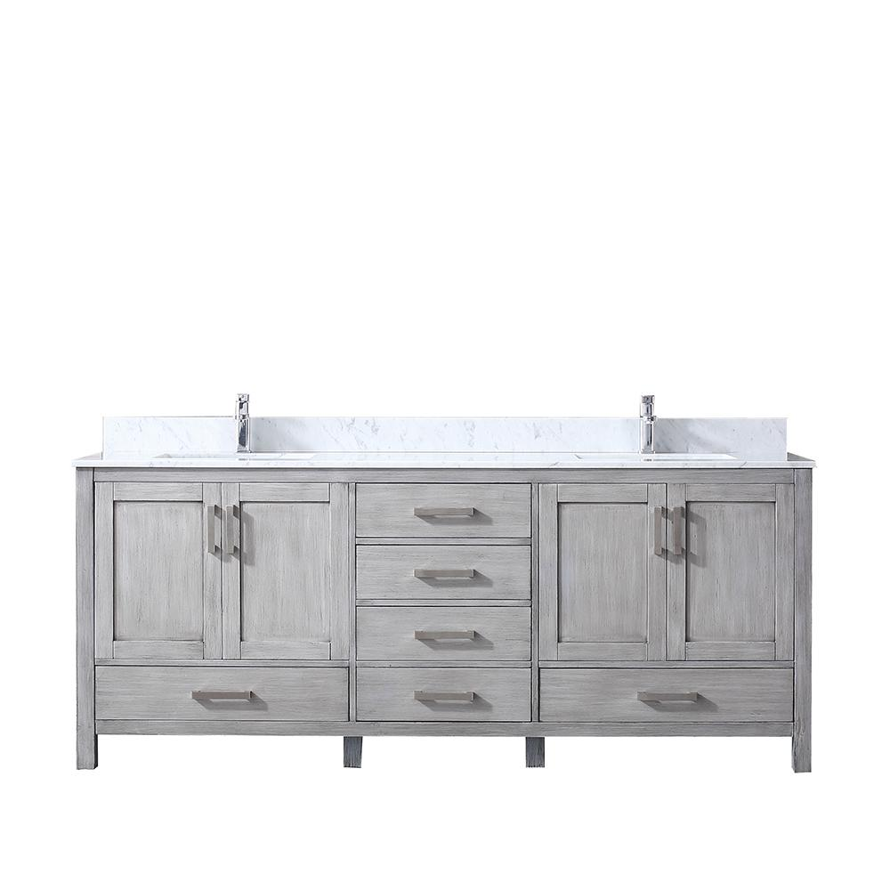 Lexora Jacques 80 In Double Vanity
