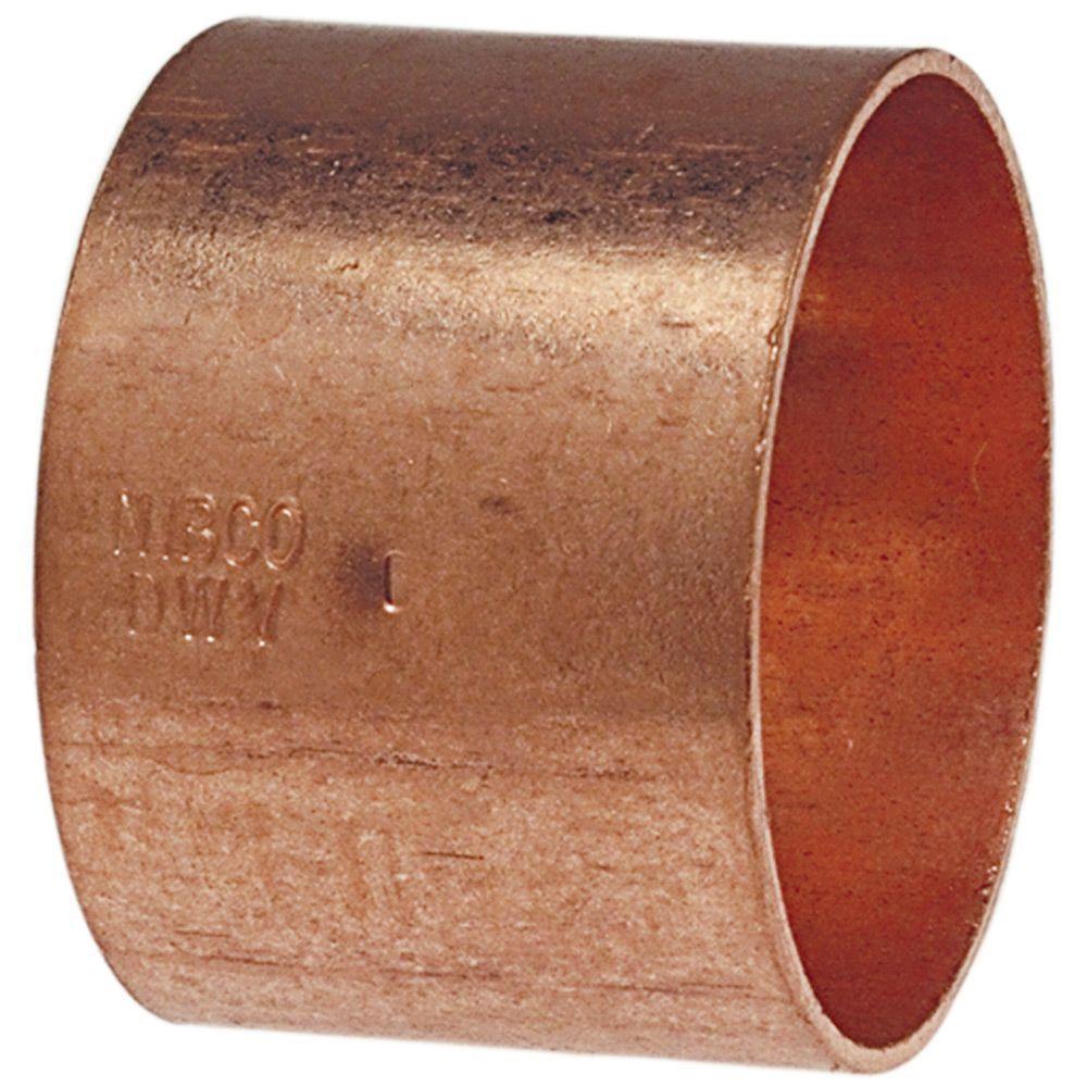 """1-1//2/"""" C x 1-1//2/"""" C Copper Coupling"""
