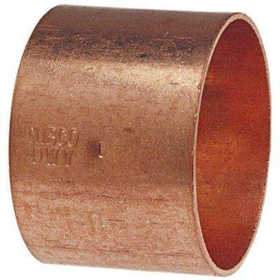 1-1/4 in. Copper DWV C x C Coupling