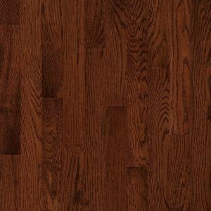 Bruce Natural Reflections Oak Sierra 5 16 In Thick X 2 1