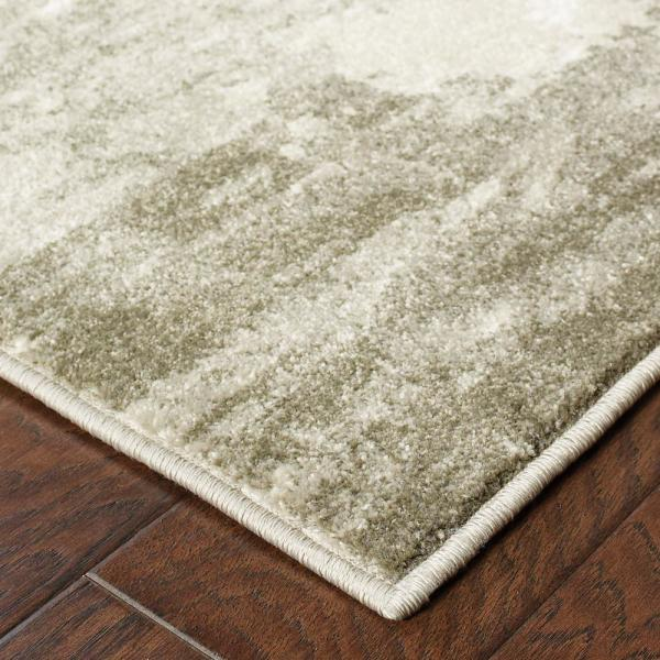 Raelynn Ivory Grey 4 Ft X 6 Ft Abstract Area Rug 995276 The Home Depot