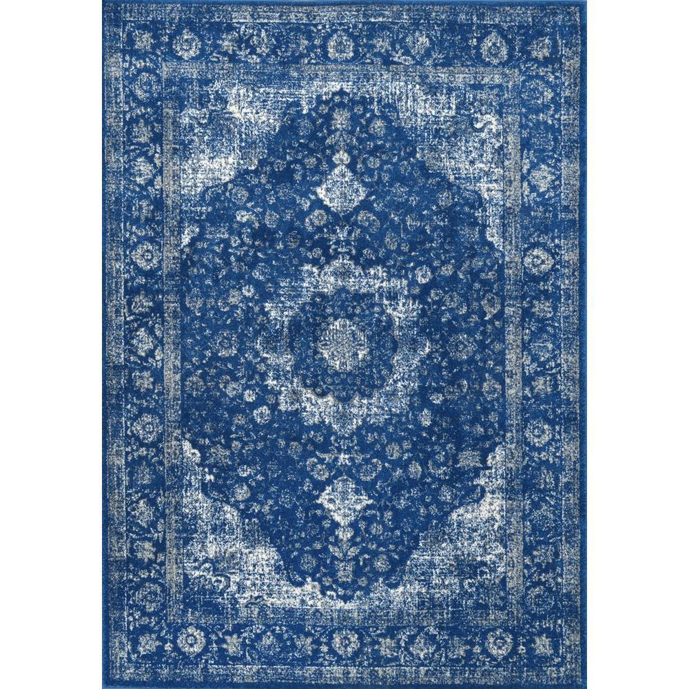 nuLOOM Verona Vintage Persian Dark Blue