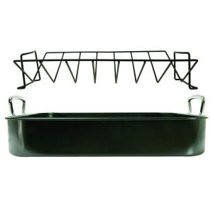 Click here to buy Ecolution Kitchen Extras Aluminum Roasting Pan by Ecolution.
