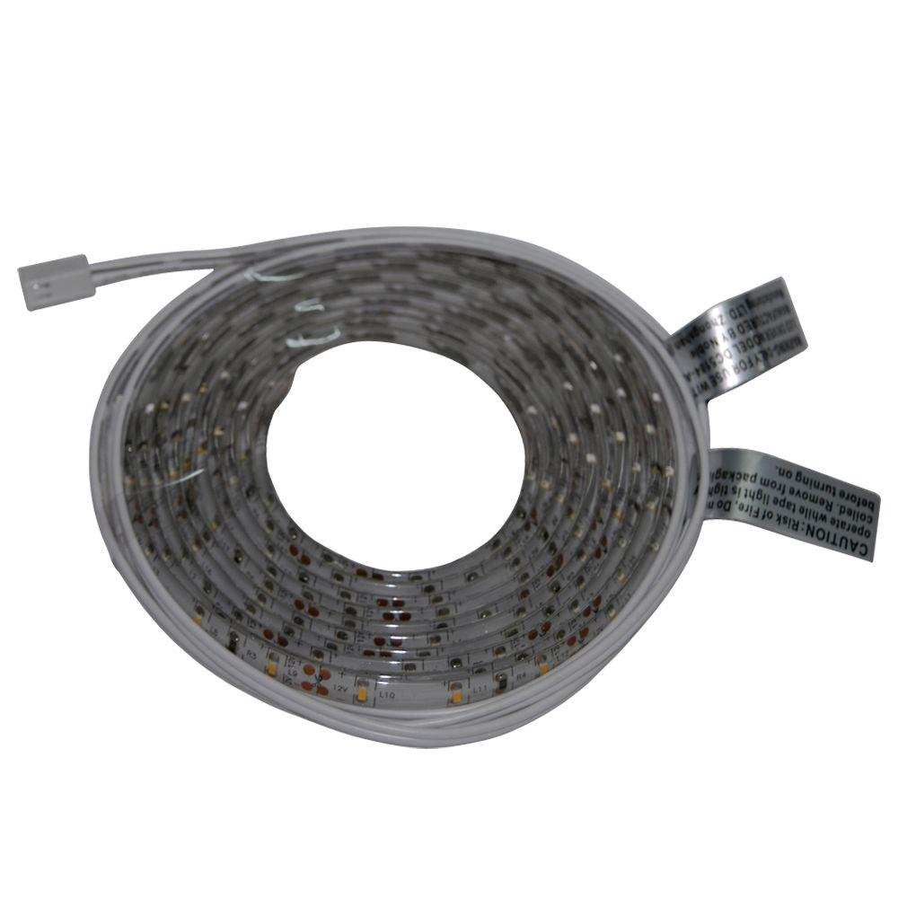 Commercial Electric 8 Ft. Indoor LED Warm White Tape Light