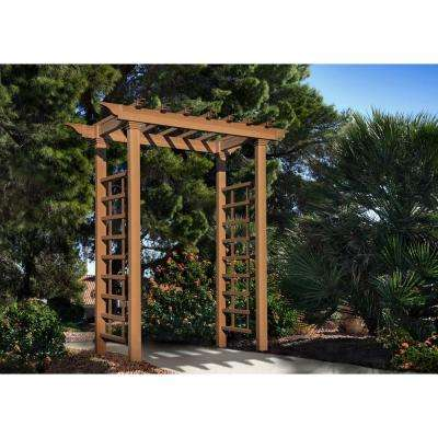 87.75 in. x 52 in. Carolina Composite Arbor