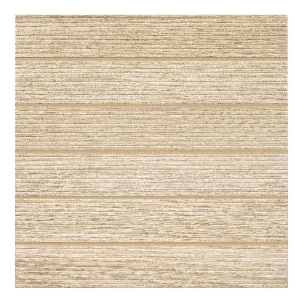 Modern Outdoor Living Natural 18 in. x 18 in. Glazed Porcelain