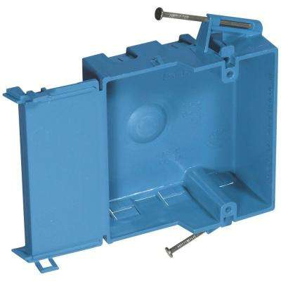 1-Gang 18 cu. in. Shallow New Work Electrical Box (Case of 6)