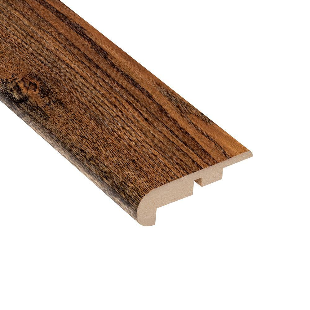 Home Legend Camano Oak 7/16 in. Thick x 2-1/4 in. Wide x 94 in. Length Laminate Stairnose Molding