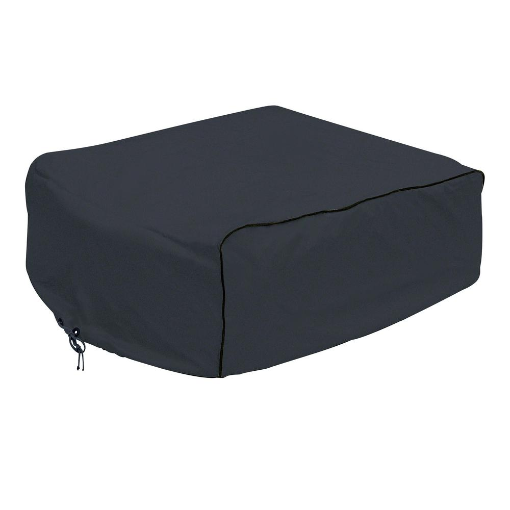 Overdrive 41 in. L x 27.25 in. W x 12.75 in. H Black RV Air Conditioner Cover Coleman Overdrive 41 in. L x 27.25 in. W x 12.75 in. H Black RV Air Conditioner Cover Coleman