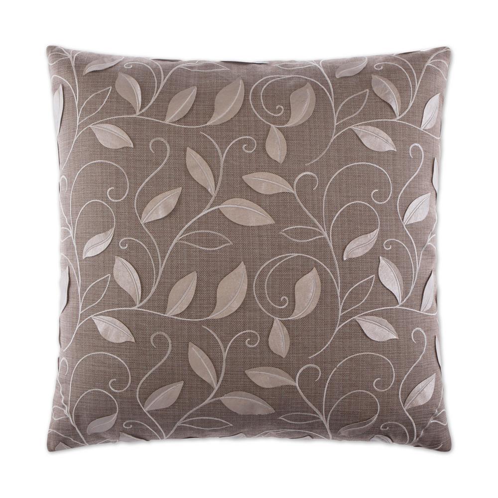 Atticus Platinum Feather Down 24 in. x 24 in. Standard Decorative Throw Pillow