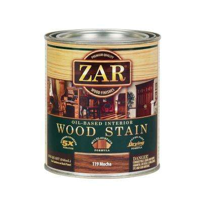 119 1 qt. Mocha Interior Wood Stain (2-Pack)