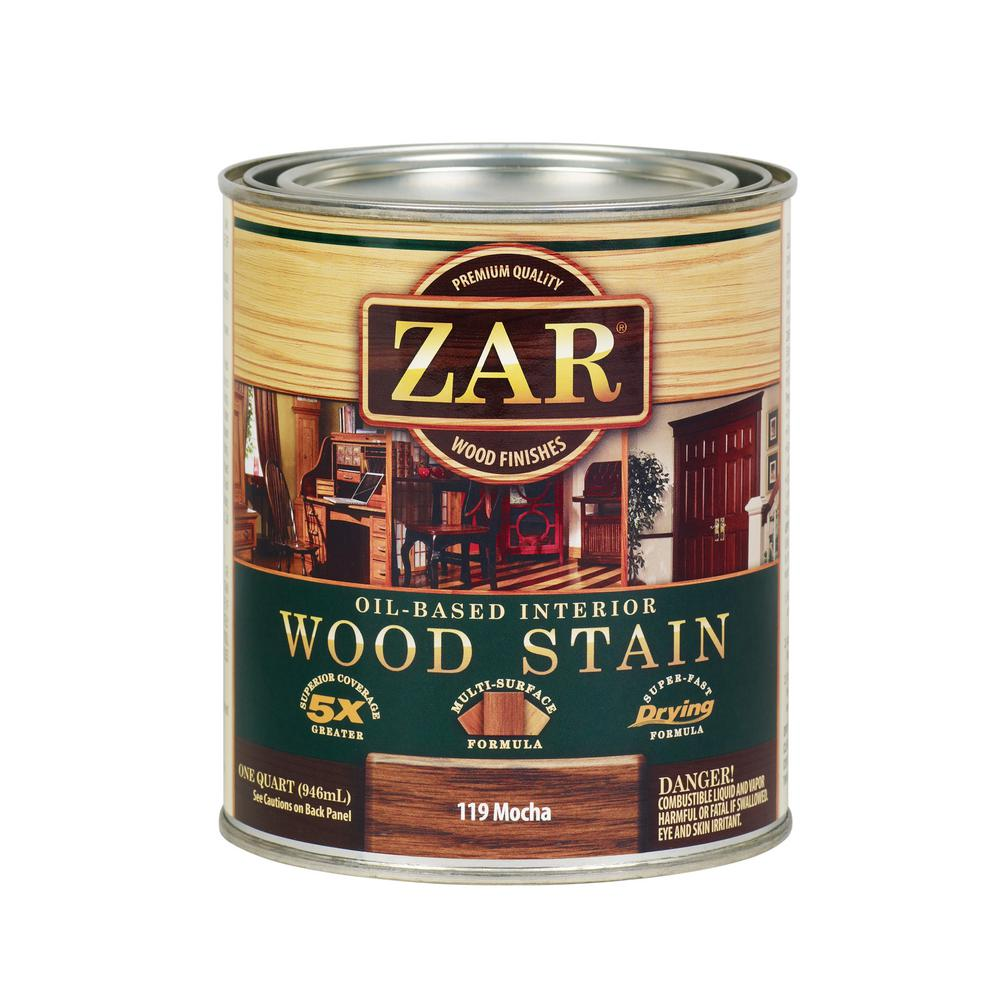 ZAR 119 1 qt. Mocha Interior Wood Stain (2-Pack)