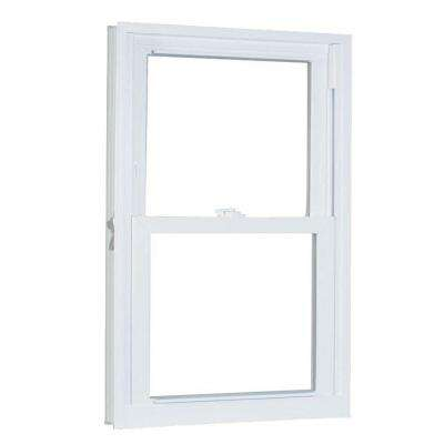 35.75 in. x 61.25 in. 70 Series Pro Double Hung White Vinyl Window with Buck Frame