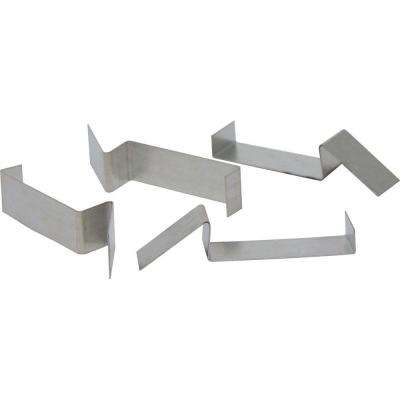 Recessed Lighting Furring Channel Silver Mounting Clips
