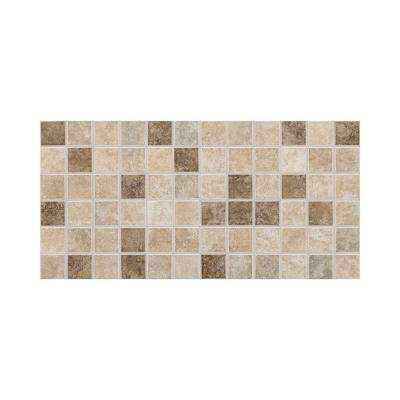 Stratford Place Stratford Blend 12 in. x 24 in. x 6 mm Mesh-Mounted Ceramic Mosaic Floor/Wall Tile (24 sq. ft. / case)